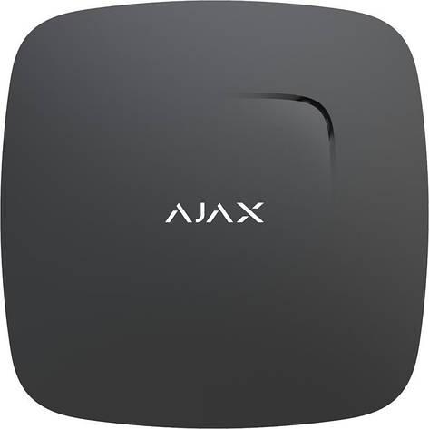 Бездротовий датчик диму і чадного газу Ajax FireProtect Plus Чорний, фото 2