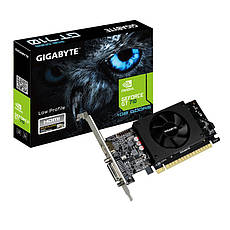Видеокарта Gigabyte GeForce GT710 1GB DDR5 64bit (GV-N710D5-1GL), фото 3