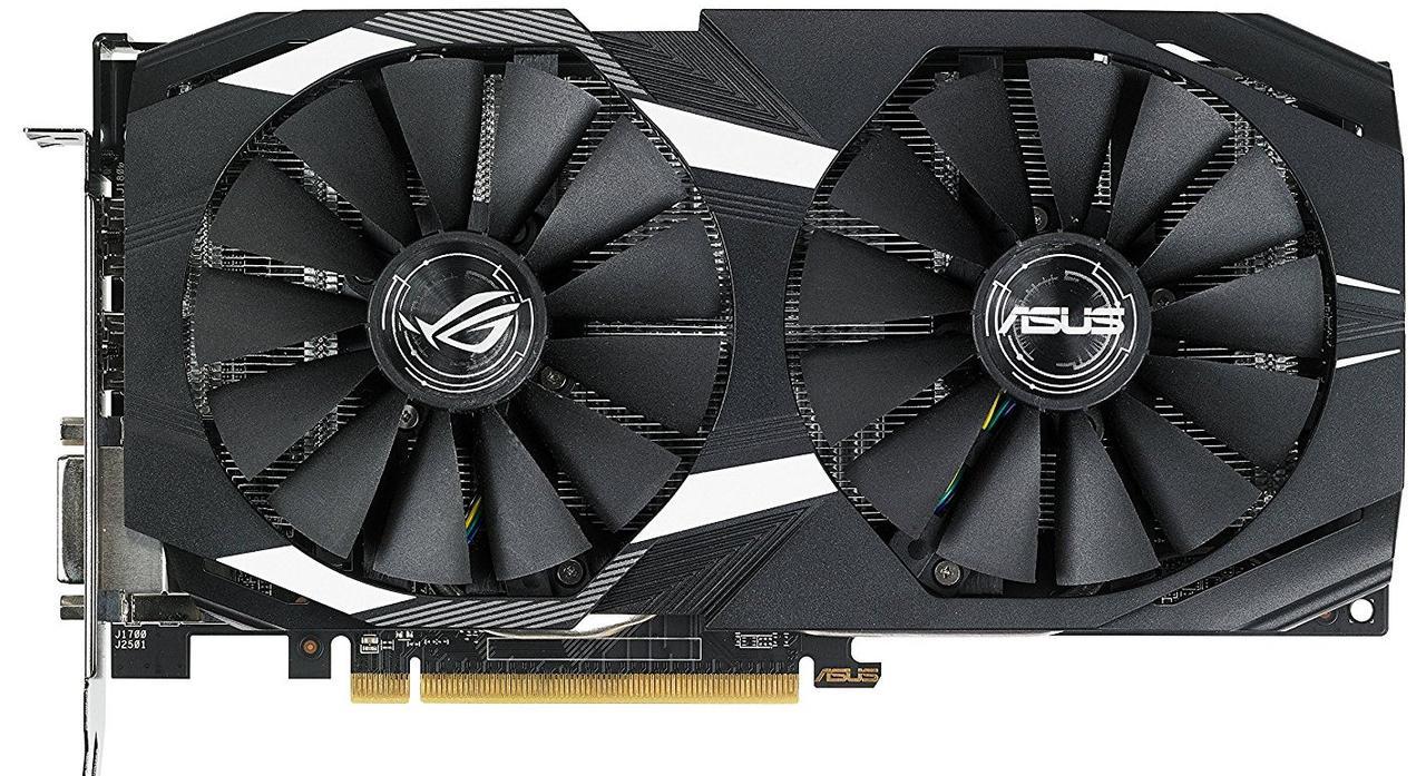 Видеокарта ASUS Radeon RX 580 8GB DDR5 DUAL OC (DUAL-RX580-O8G)