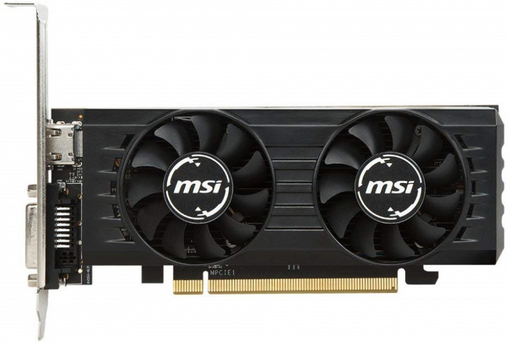 Відеокарта MSI GeForce GTX1650 4GB DDR5 OC Low Profile (GF_GTX1650_4GT_LP_OC)