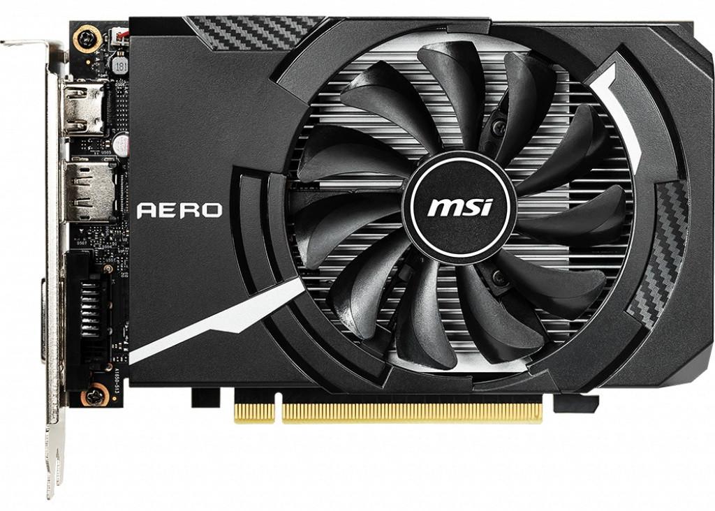 Видеокарта MSI GeForce GTX1650 4GB DDR5 ITX (GF_GTX1650_AERO_ITX_4G)