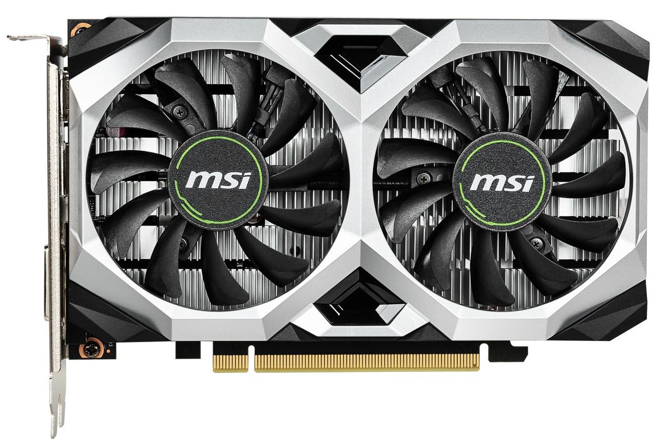 Видеокарта MSI GeForce GTX1650 4GB DDR5 VENTUS XS OC (GF_GTX1650VENTUS_XS_4GOC)