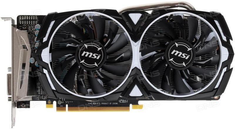 Відеокарта MSI Radeon RX 570 4GB DDR5 ARMOR (RX_570_ARMOR_4G)
