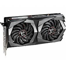 Відеокарта MSI GeForce GTX1650 4GB DDR6 GAMING (GTX_1650_D6_GAMING), фото 3
