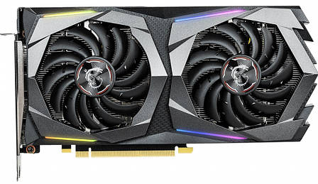 Видеокарта MSI GeForce GTX1660 6GB GDDR5 GAMING (GTX_1660_GAMING_6G), фото 2