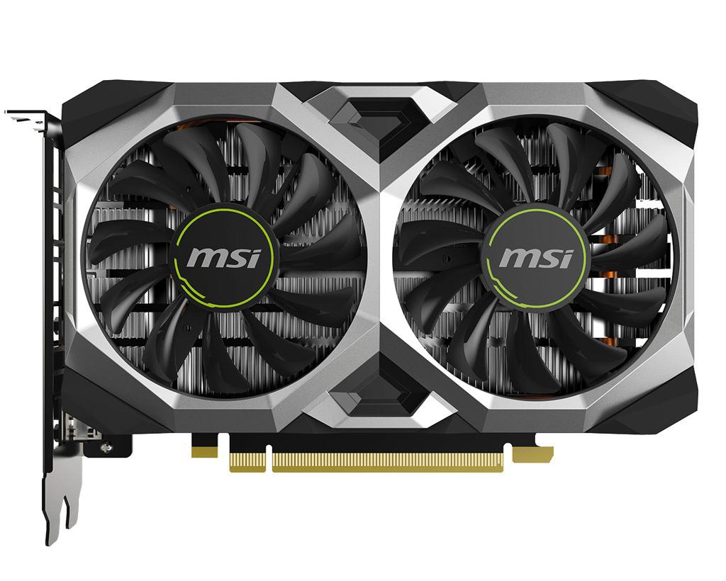 Видеокарта MSI GeForce GTX1650 SUPER 4GB GDDR6 VENTUS XS (GTX1650_SUPER_VENTUS_XS)