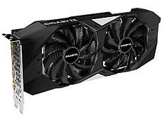 Відеокарта GIGABYTE GeForce GTX1660Ti 6GB DDR6 192bit DPx3-HDMI WINDFORCE (GV-N166TWF2-6GD), фото 3
