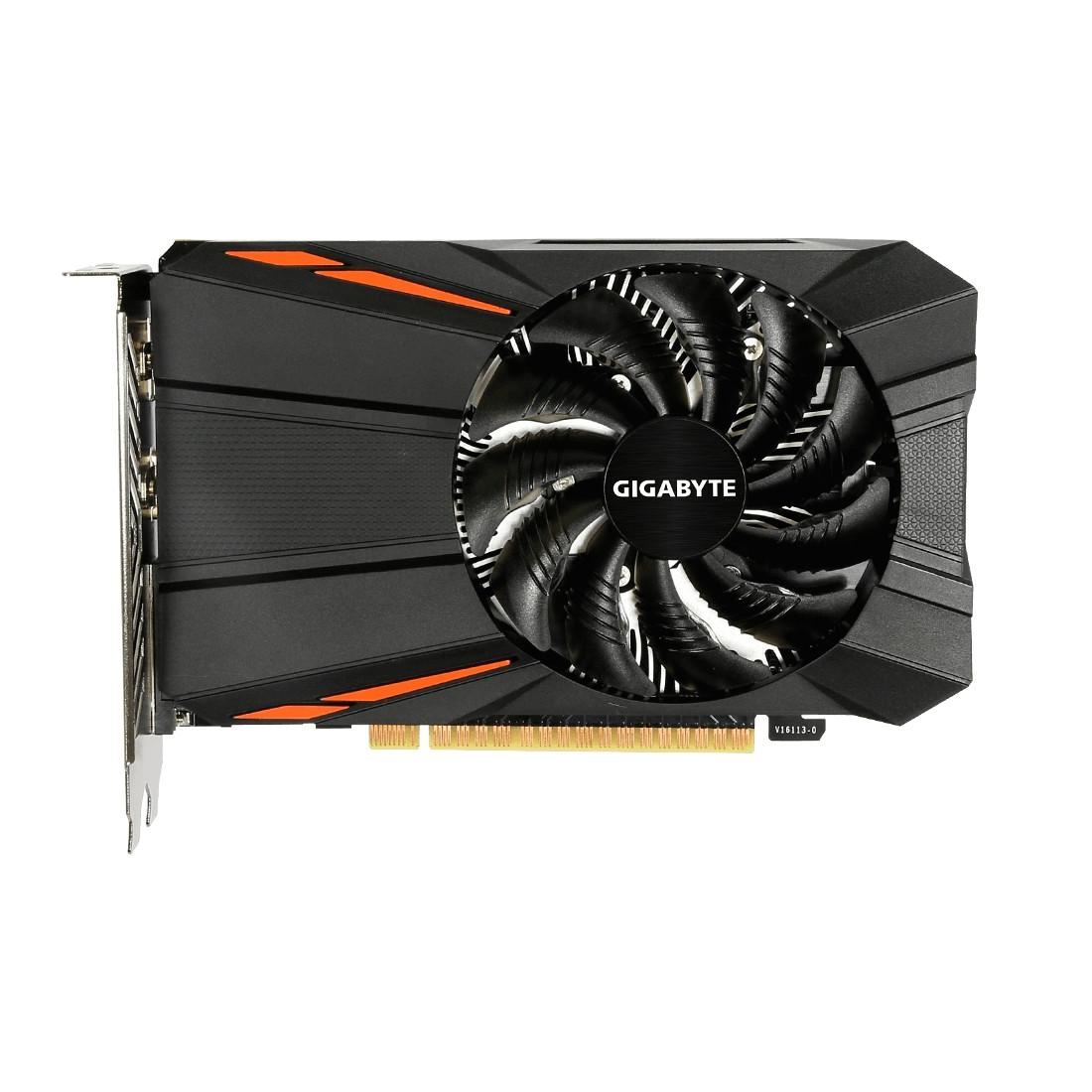 Видеокарта Gigabyte GeForce GTX1050TI 4GB DDR5 (GV-N105TD5-4GD)