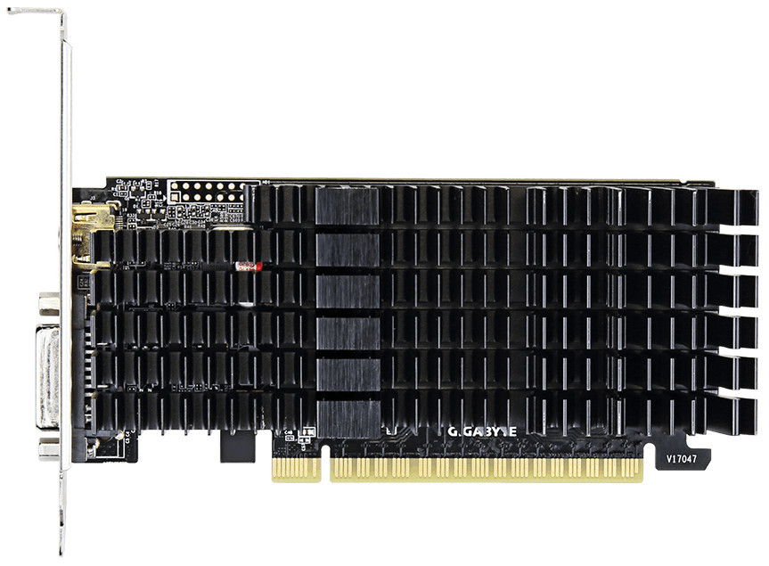 Видеокарта Gigabyte GeForce GT710 2GB DDR5 64bit (GV-N710D5SL-2GL)