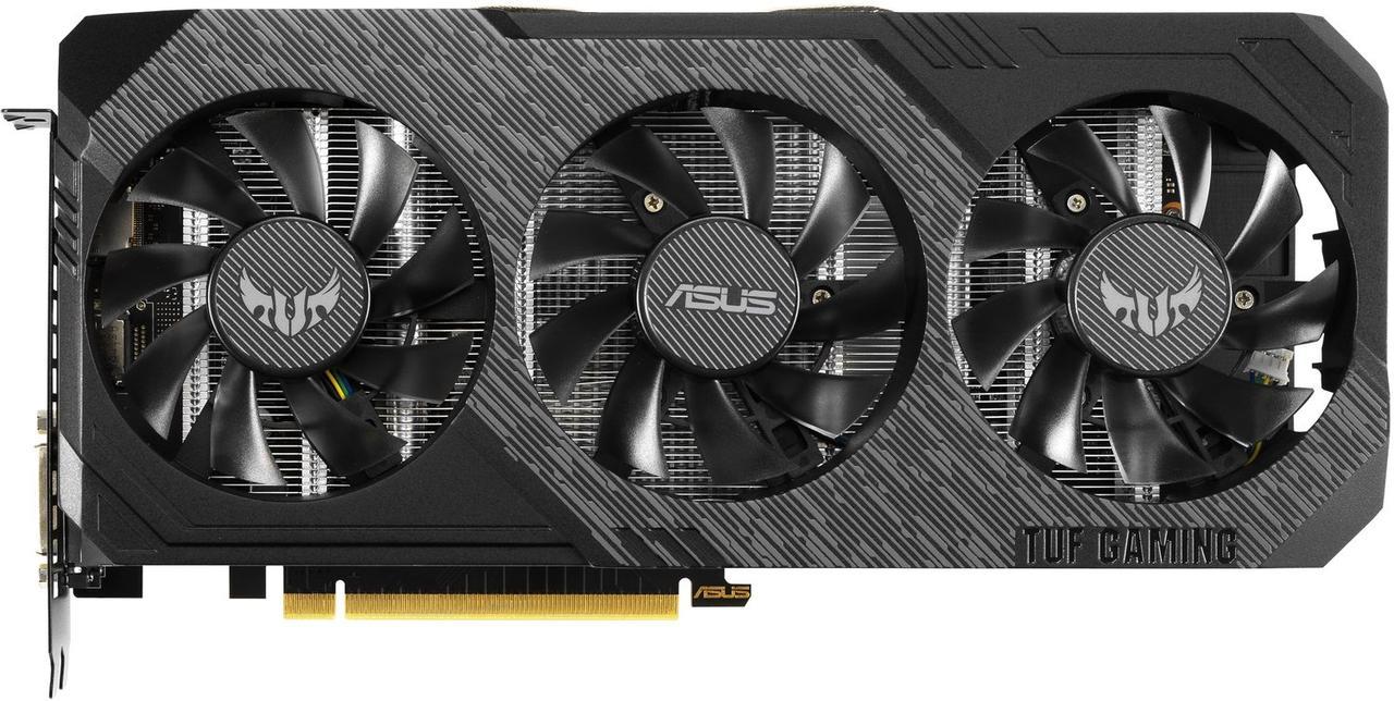 Відеокарта ASUS GeForce GTX1660 6GB GDDR6 GAMING TUF3 (TUF3-GTX1660-6G-GAM)
