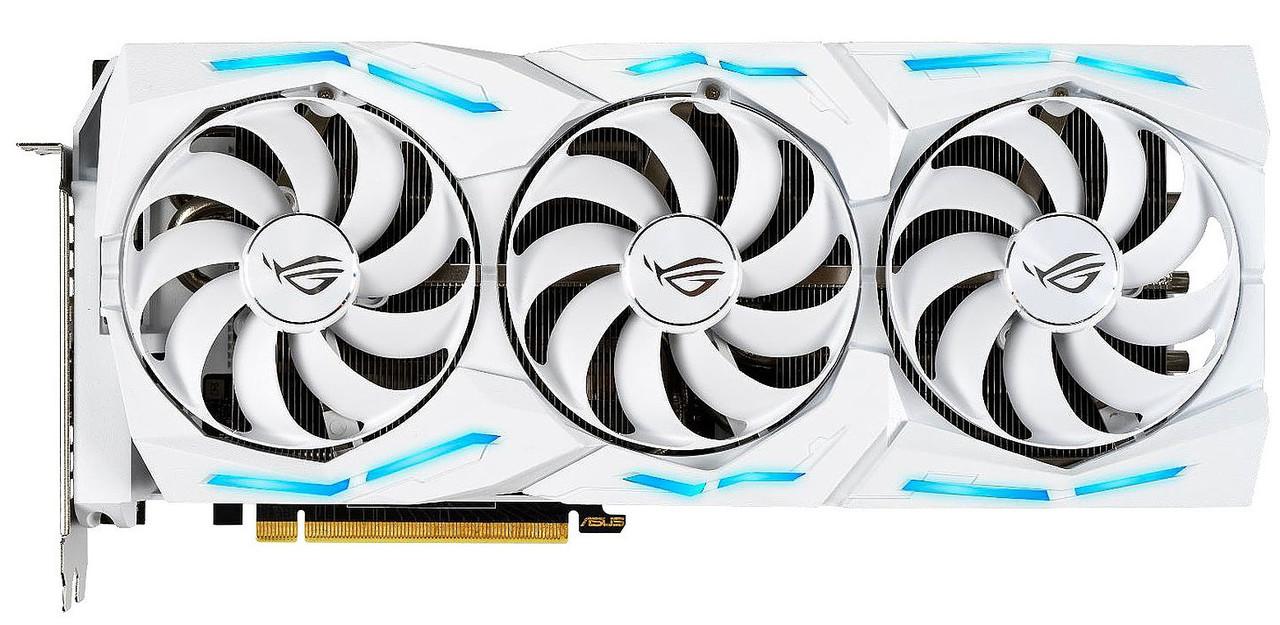 Відеокарта ASUS GeForce RTX2080 SUPER 8GB GDDR6 STRIX (STRIX-RTX2080S-O8G_WHITE)