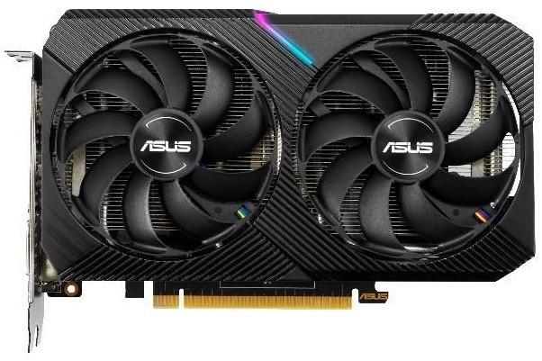 Видеокарта ASUS GeForce GTX1660 SUPER 6GB GDDR6 DUAL OC MINI (DUAL-GTX1660S-O6G-MINI)