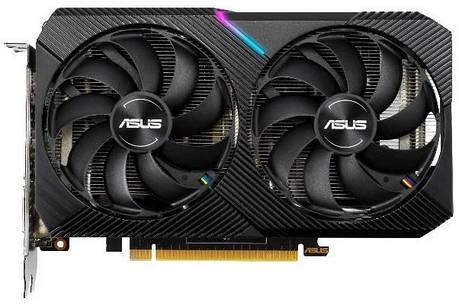 Видеокарта ASUS GeForce GTX1660 SUPER 6GB GDDR6 DUAL OC MINI (DUAL-GTX1660S-O6G-MINI), фото 2