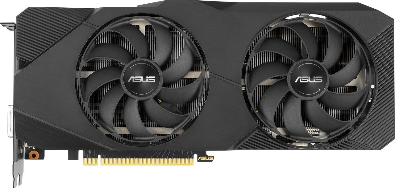 Видеокарта ASUS GeForce RTX2060 SUPER 8GB GDDR6 DUAL EVO OC V2 (DUAL-RTX2060S-O8G-EVO-V2)