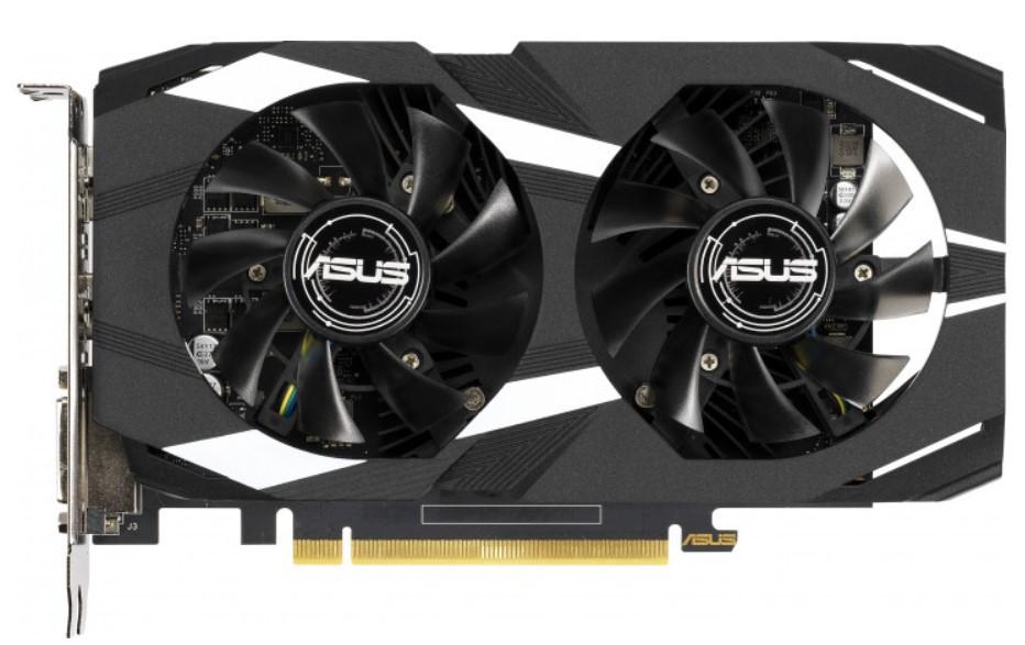 Відеокарта ASUS GeForce GTX1650 4GB DDR5 DUAL OC (DUAL-GTX1650-O4G)