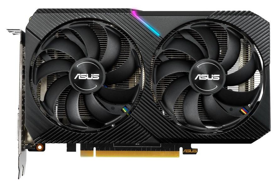Видеокарта ASUS GeForce RTX2070 8GB GDDR6 DUAL MINI OC (DUAL-RTX2070-O8G-MINI)