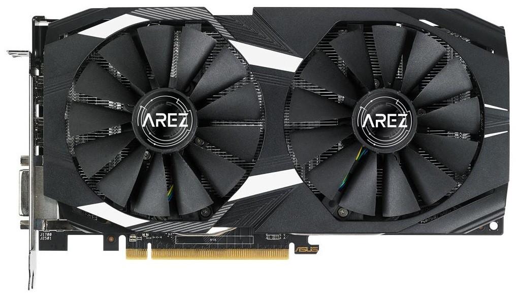 Видеокарта ASUS Radeon RX 580 8GB DDR5 DUAL OC AREZ (AREZ-DUAL-RX580-O8G)
