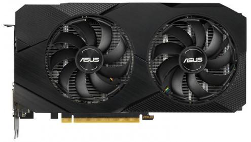 Видеокарта ASUS GeForce RTX2060 6GB GDDR6 DUAL EVO OC (DUAL-RTX2060-O6G-EVO)