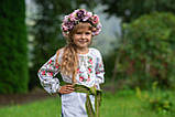 Вишиванка «Розочка» для витончених по справжньому ніжних дівчаток., фото 2