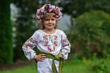 Вишиванка «Розочка» для витончених по справжньому ніжних дівчаток., фото 3