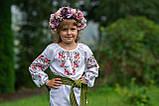 Вишиванка «Розочка» для витончених по справжньому ніжних дівчаток., фото 4