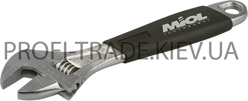 54-024 Ключ разводной c эргономичной ручкой  250мм, (0-29мм)