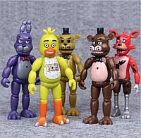 Набір фігурок П'ять ночей з Фредді, 5в1, 14 см - Five Nights at freddy's
