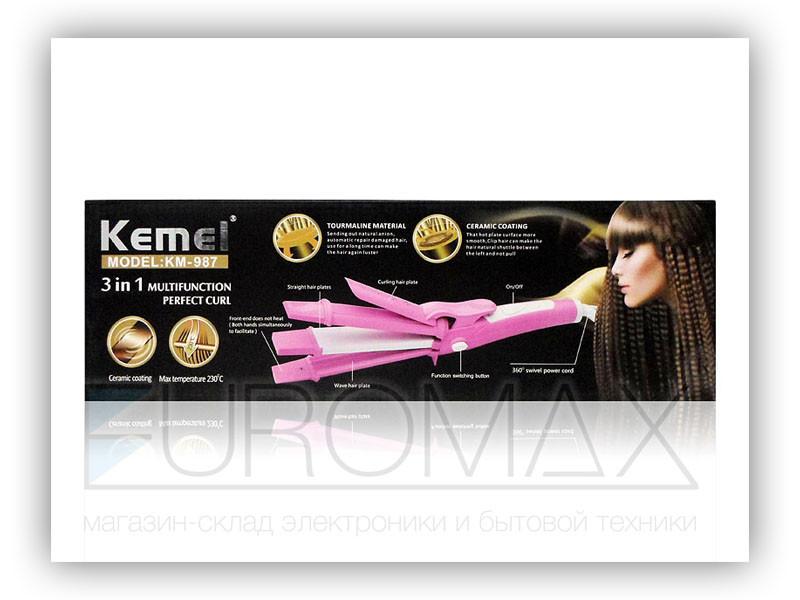 Утюжок для волос плойка Kemei 40шт JB-KM-987
