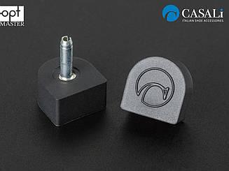 CASALI 2.5мм THIN INFLEX набойка полиуретановая на штыре цв.черный