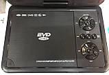 """Переносний портативний ДВД плеєр DVD EVD NS-958 9,8"""" вбудований Т2 для автомобіля чи будинку + ігри, фото 4"""