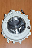 Бак стиральной машины Indesit (Индезит) Ariston Аристон в сборе с амортизаторами C00293409 Оригинал