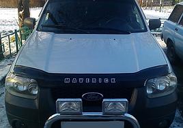Дефлектор капоту, мухобойка Ford Maveriсk 2001-2004