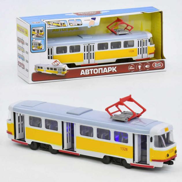 Трамвай в коробке 9708 В