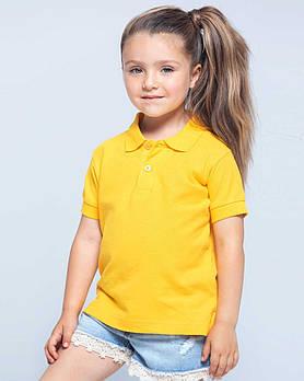 Детская футболка-поло JHK KID POLO разные цвета и размеры