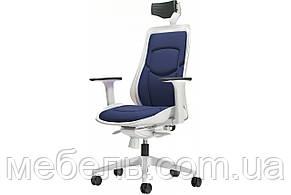 Офісний стілець Barsky Freelance White/Navy BFW-02, фото 2