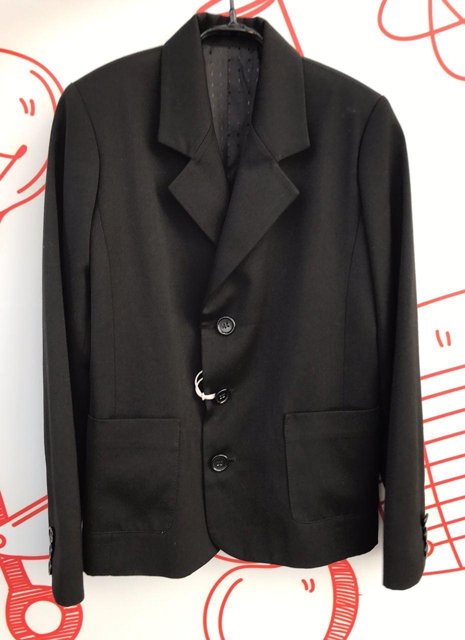 Детский пиджак для мальчика Школьная форма для мальчиков Krytik Италия 538421 Черный