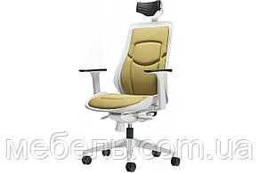 Кресло для работы дома Barsky BFW-03 Freelance White/Green, кресло из ткани, белый / зеленый, фото 3