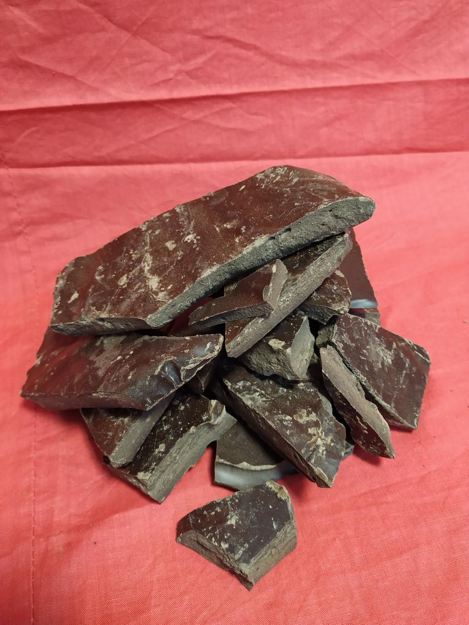 Крафтовый шоколад чёрний натуральный 99 % в плитках 250г