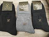 Махровые мужские носки,.LOUIS VUITTON,, размер 41-45 (100% коттон), фото 2