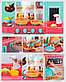 """Игровая кухня """"Кухня маленькой хозяйки"""" Limo Toy 889-152 (Розовая), 43 предмета, с водой и паром, фото 4"""