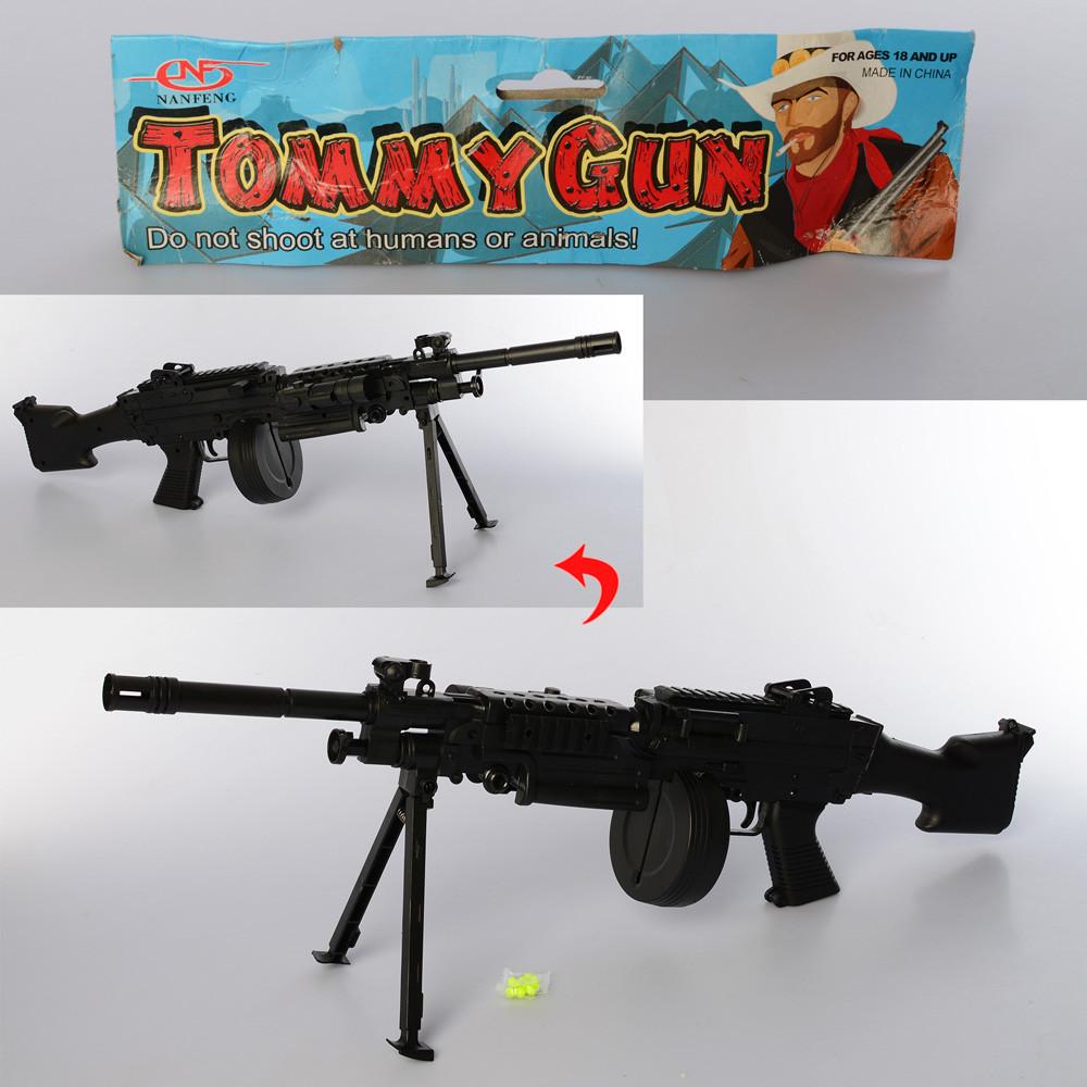 Игрушечный автомат Tommy Gun 222 с лазеным прицелом
