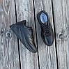 Чорні кросівки Adidas Shark еко шкіряні демисезон Адідас Шарк копія Жіночі, фото 4