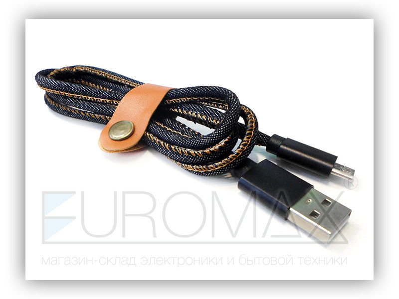 Кабель USB - micro USB USB-JEANS01-V8