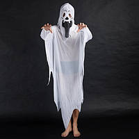 Костюм Призрака для взрослых на Хэллоуин (WSJ394) Umorden, размер L / 48-50 (RU)
