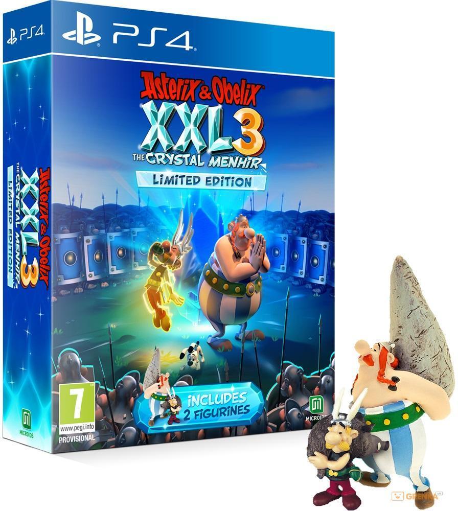 Asterix and Obelix XXL 3 The Crystal Menhir Limited Edition (англійська версія) PS4