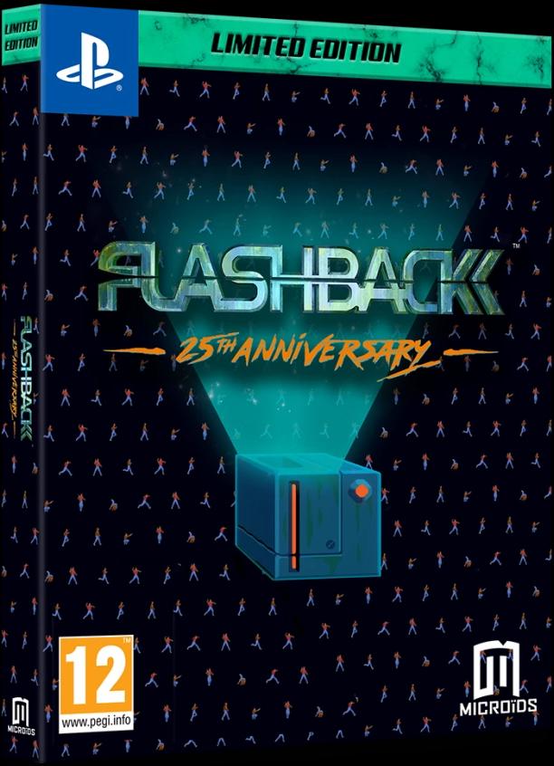 Flashback 25th Anniversary Limited Edition (англійська версія) PS4