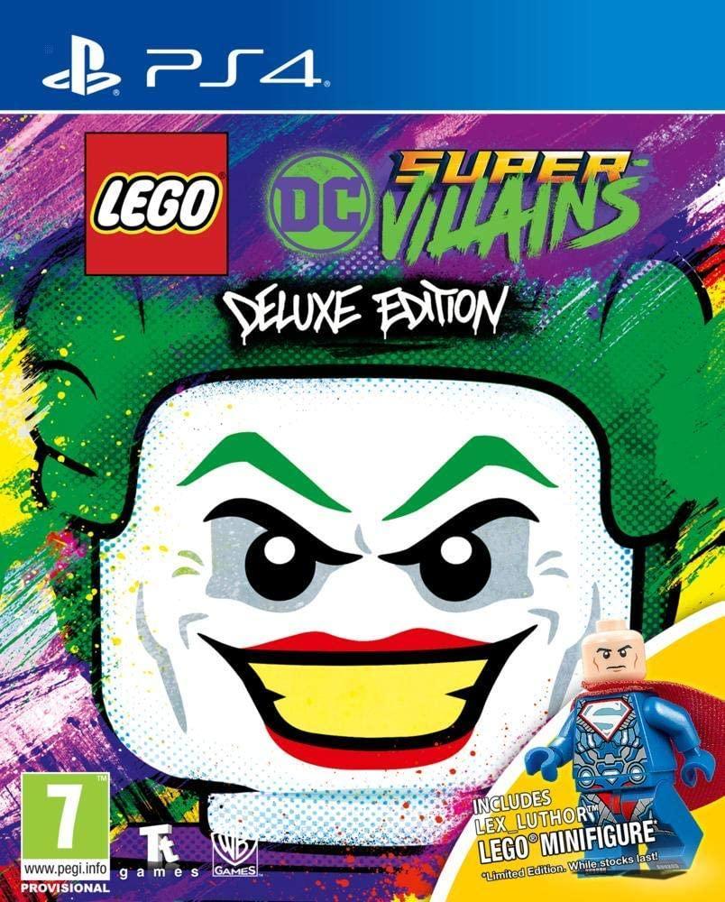 LEGO DC Super Villains Minifigure Edition (російські субтитри) PS4