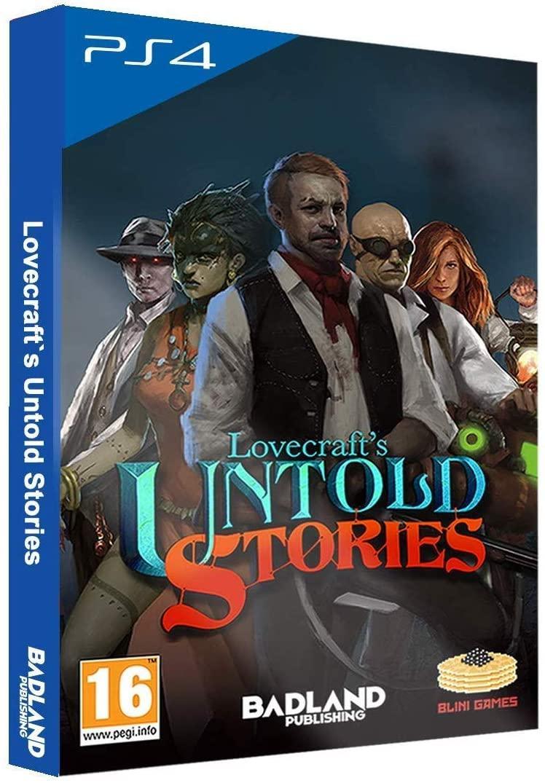 Lovecrafts Untold Stories Collectors Edition (російські субтитри) PS4