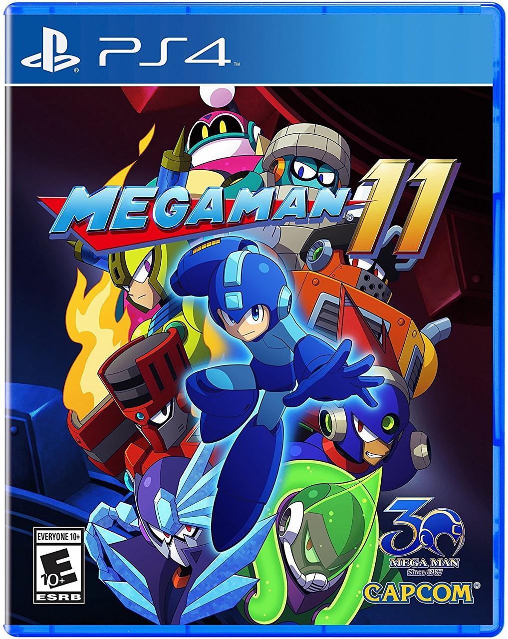 Mega Man 11 (англійська версія) PS4