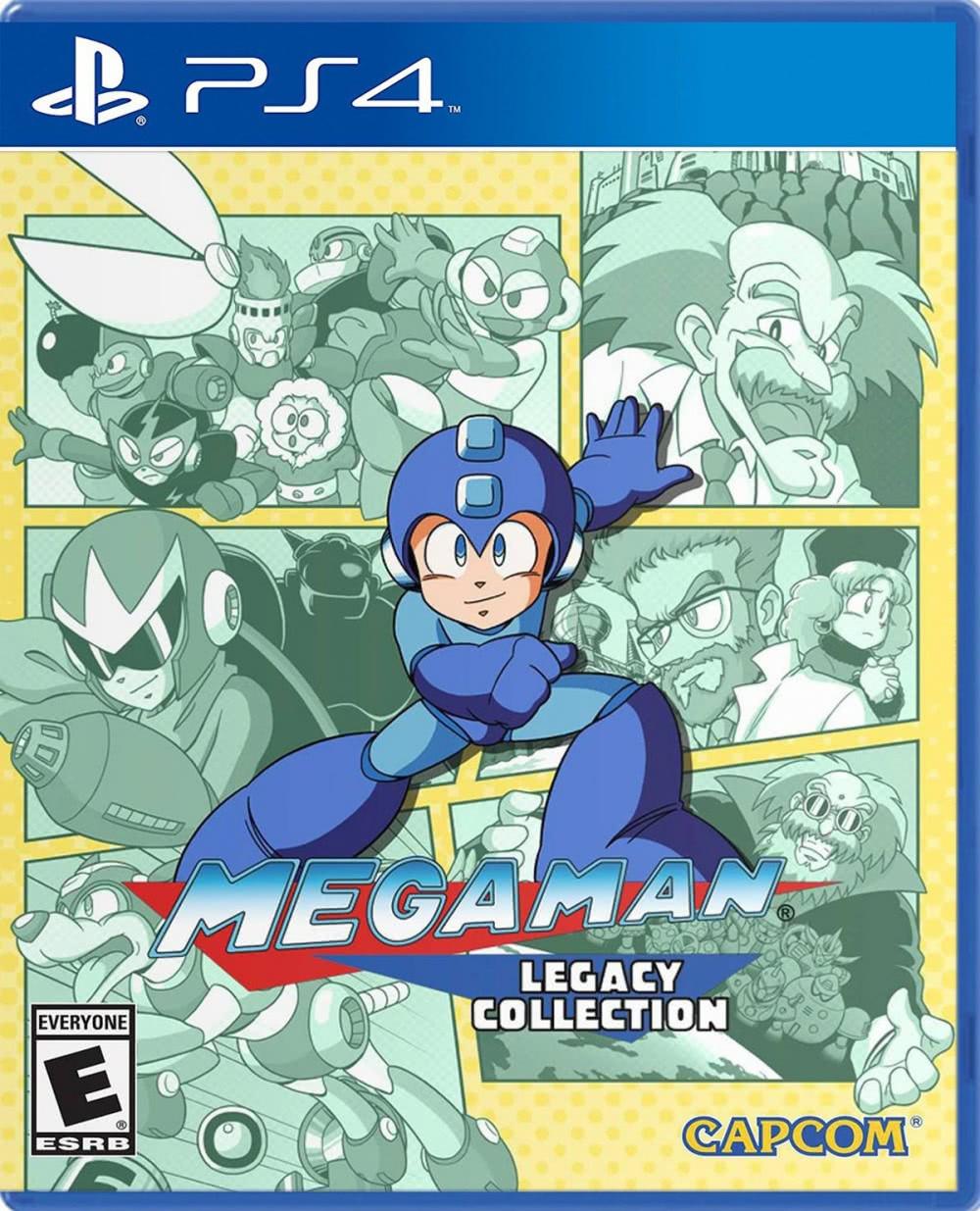 Mega Man Legacy Collection (англійська версія) PS4